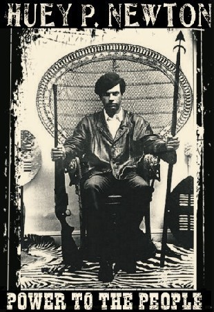 Huey P Newton - Power To The People Mens T-Shirt