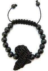 Africa Wooden Bead Bracelet