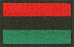 RBG Flag Iron on Patch