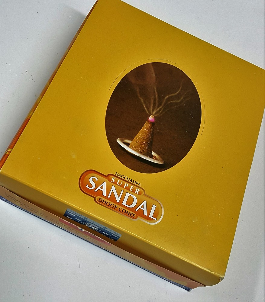 Nag Champa Super Sandal Dhoop Cones