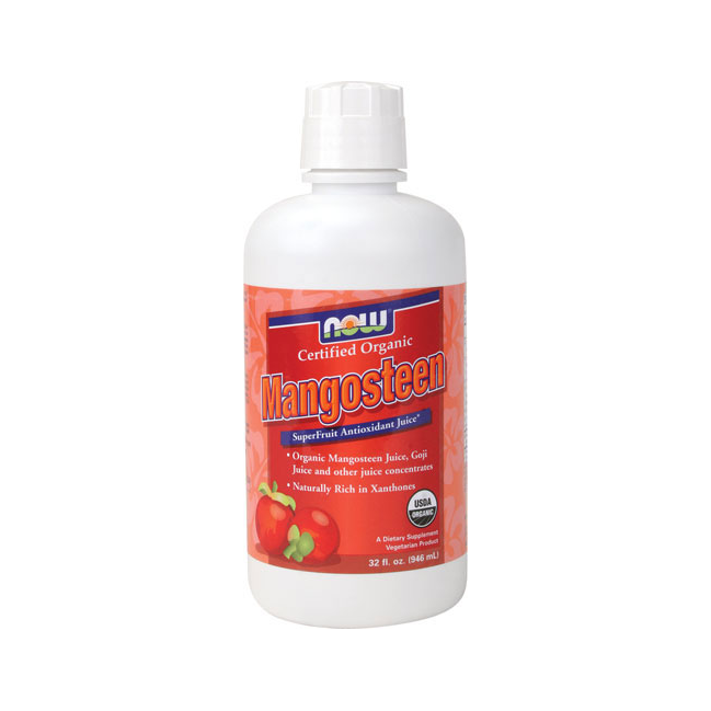 Mangosteen, Certified Organic - 32 oz.