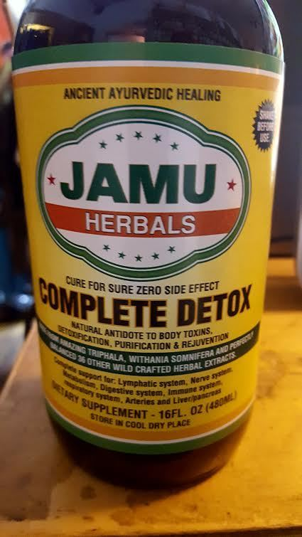 JAMU Herbals Complete Detox 16fl oz. (480 ml)