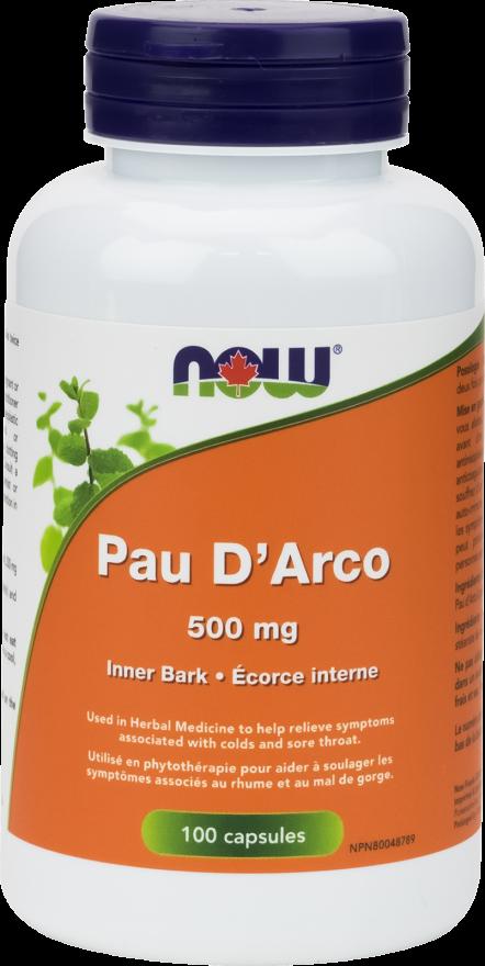 Pau d'Arco 500 mg Capsules