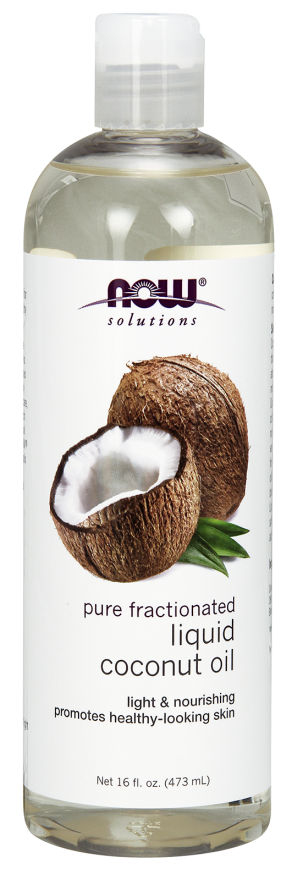 Liquid Coconut Oil - Pure Fractionated 16oz