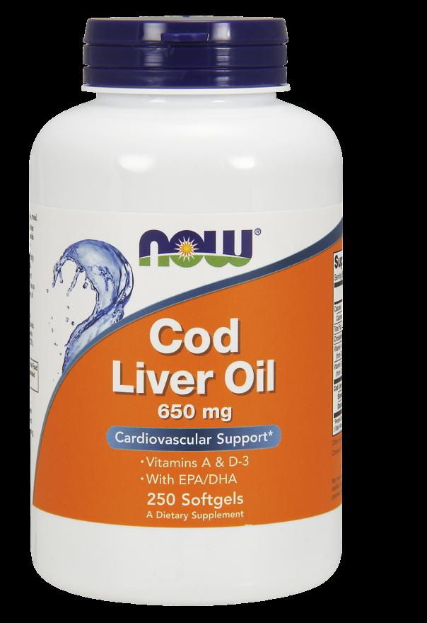 Cod Liver Oil - 650mg