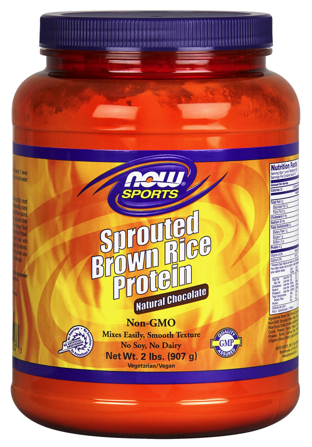 Sprouted Brown Rice Protein Natural Chocolate