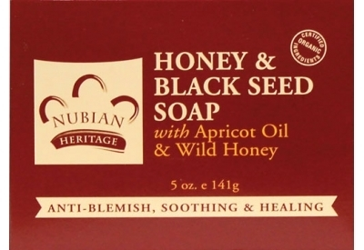 Nubian Heritage Honey & Black Seed Bar Soap - 1 Case (72 Bars)