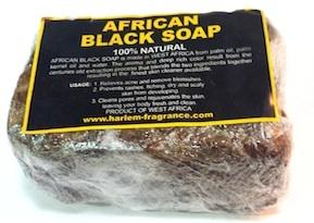 African Black Soap 100% Natural Bar Soap (Big)