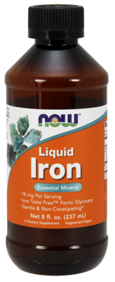 Liquid Iron Essential Mineral 18-mg