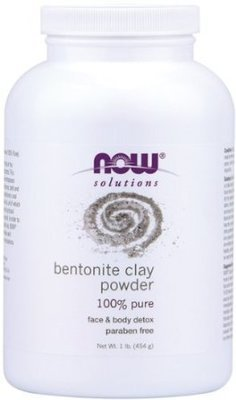 Now Bentonite Clay Powder - 1 lb