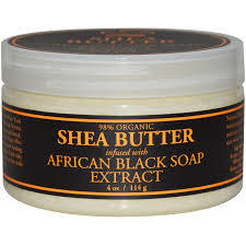 Nubian Heritage Black Soap Infused Shea Butter