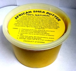 Yellow African Shea Butter - 16 oz