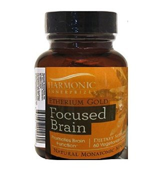 Harmonic Innerprizes Etherium Gold Focused Brain - Natural Monatomic Minerals
