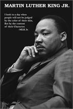 Martin Luther King Jr. with Judgement Quote