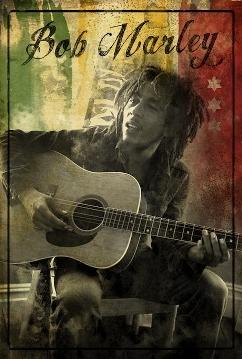 Bob Marley - Guitar Sitting