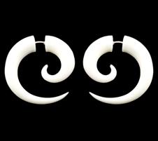 Small Bone Earrings