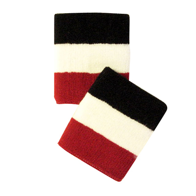 Red White Black WristBand