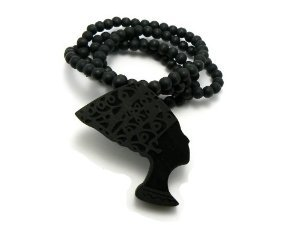 Nefertiti Wooden Necklace