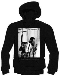 Malcolm X Hoody (Black)