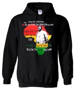 Marcus Garvey Hoody (Black)