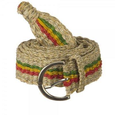 Rasta Hemp Belt