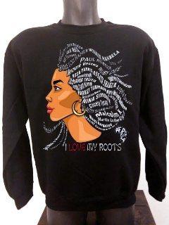 I Love My Roots Ladies Sweater