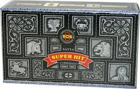 Box of Super Hit Incense - 15 Gram Boxes (180 Sticks)