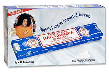Nag Champa Incense Box 15 Gram - 180 Sticks