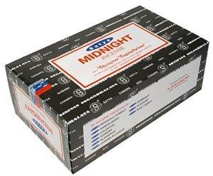 Midnight Satya Incense Box 15 Grams (180 sticks)