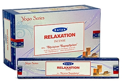 Relaxation Satya Incense Box 15 Grams (180 Sticks)