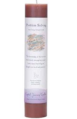 Crystal Journey Pillar Candle: Problem Solving