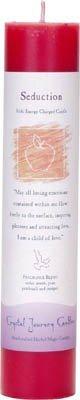 Crystal Journey Pillar Candle: Seduction