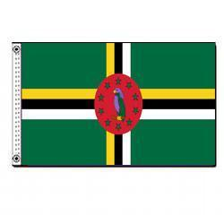 Dominica 3' x 5' Foot Flag
