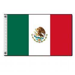 Mexico 3' by 5' Foot Flag