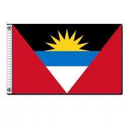 Antigua & Barbuda 3' x 5' Foot Flag