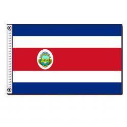 Costa Rica 3' x 5' Foot Flag