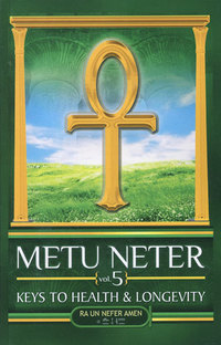 Metu Neter Volume 5 by Ra Un Nefer Amen