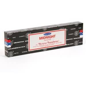 Midnight Satya Incense Pack - 15 Sticks