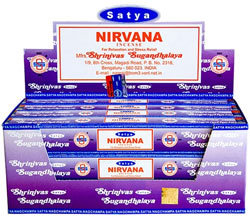 Nirvana Satya Incense Box 15 Grams (180 Sticks)