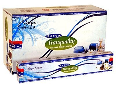 Tranquility Satya Incense Box 15 Grams (180 Sticks)