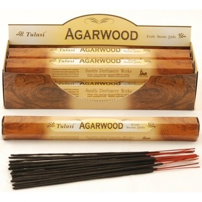 Tulasi Agarwood Incense Box - 6 packs