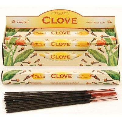 Tulasi CLove Incense Box - 6 packs