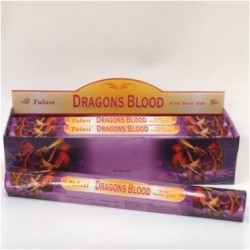 Tulasi Dragons Blood Incense Box - 6 packs