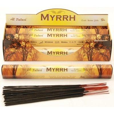 Tulasi Myrrh Incense Box - 6 packs
