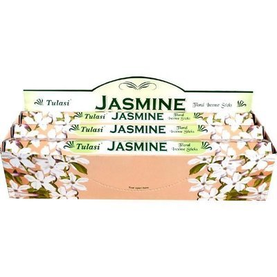 Tulasi Jasmin Incense Box - 6 packs