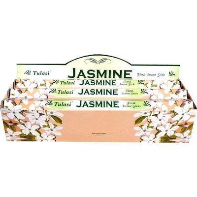 Tulasi Jasmin Incense Box - 6 packs