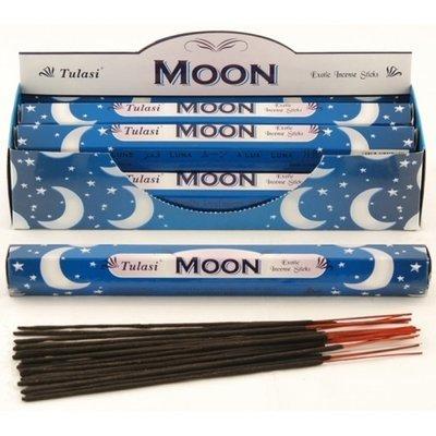 Tulasi Moon Incense Box - 6 packs
