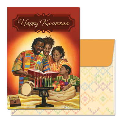 Assorted Kwanzaa Holiday Cards