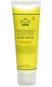 Nubian Heritage Lemongrass & Tea Tree Hand Cream 4oz