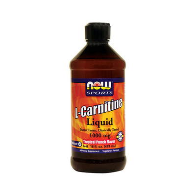 L-Carnitine Liquid Tropical Punch Flavor 1000 mg, 16 oz.
